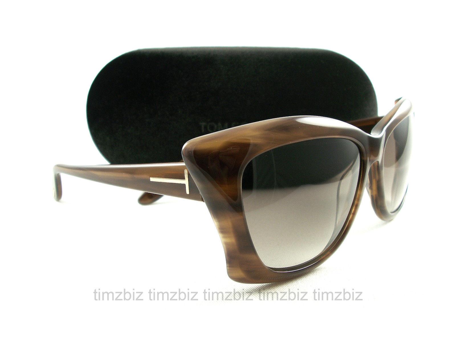代购汤姆福特太阳眼镜TF280拉娜50 f棕色FT0280/s墨镜男女个性