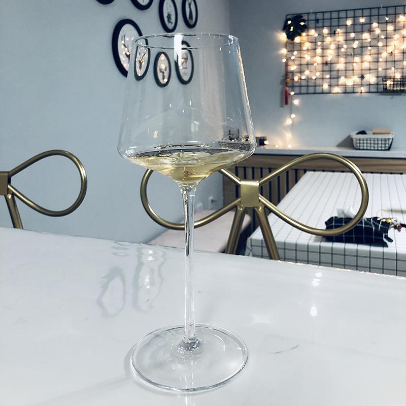 红酒杯高脚杯欧式设计ins风 勃艮第波尔多葡萄酒杯手工水晶玻璃杯满49.00元可用1元优惠券