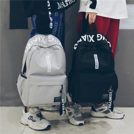 书包女韩版高中ins校园简约大学生休闲百搭森系旅行背包男双肩包图片