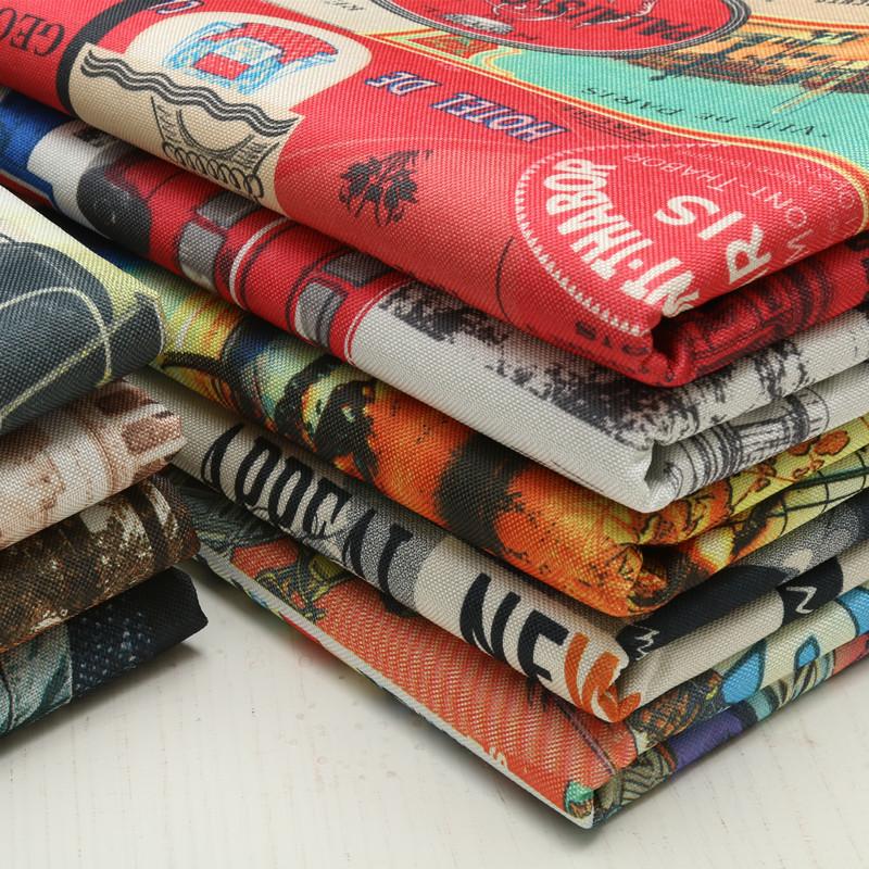 麻の布のソファーの布地は厚くて高級な亜麻の木綿の麻の印紙のヨーロッパ式のソファーの座布団をプラスして枕を抱きます。