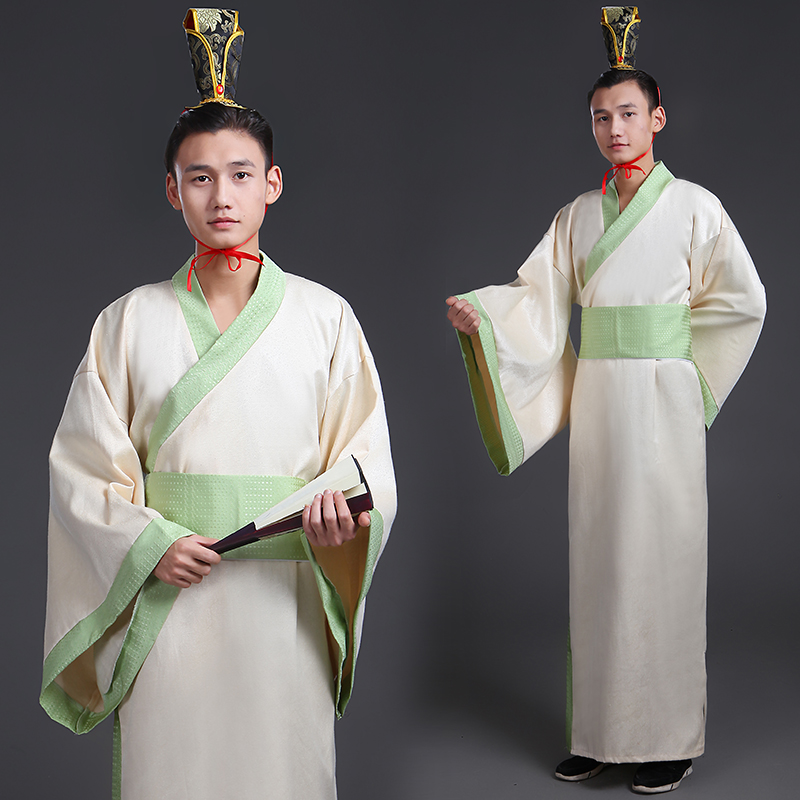 Gown young master Tang costume costume martial arts Tang costume Tang Dynasty youth large size prince long section song