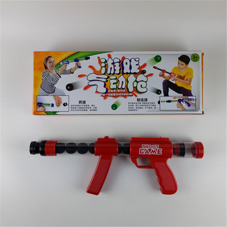 Childrens toys, soft bombs, guns, air guns, parent-child outdoor CS matches can launch foam bullets boy gifts.