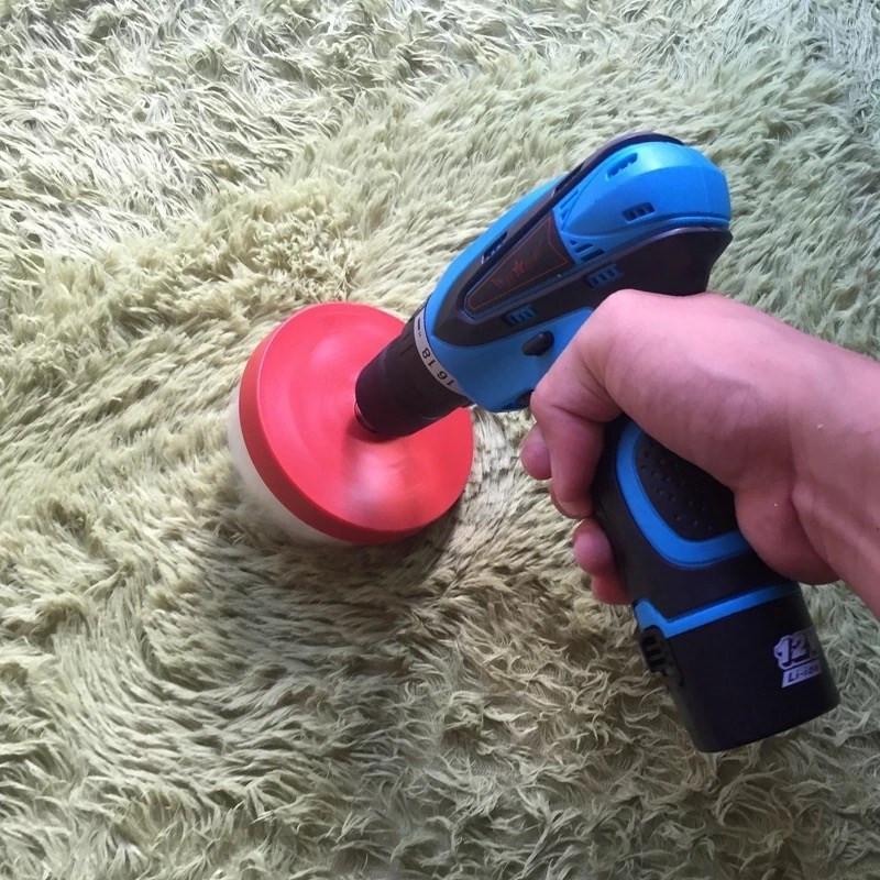 圆盘电钻电动刷头清洁刷木器刷子电动布艺卫浴圆形洗手间顽固沙发