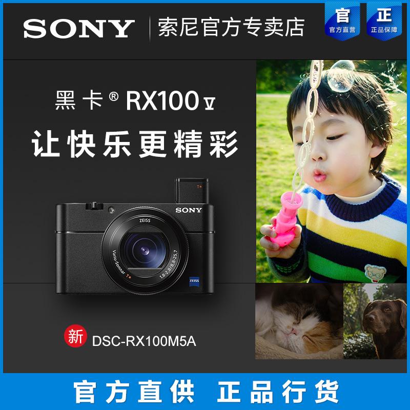Sony/索尼 DSC-RX100M5A 索尼黑卡5a数码相机高清旅游 索尼rx100