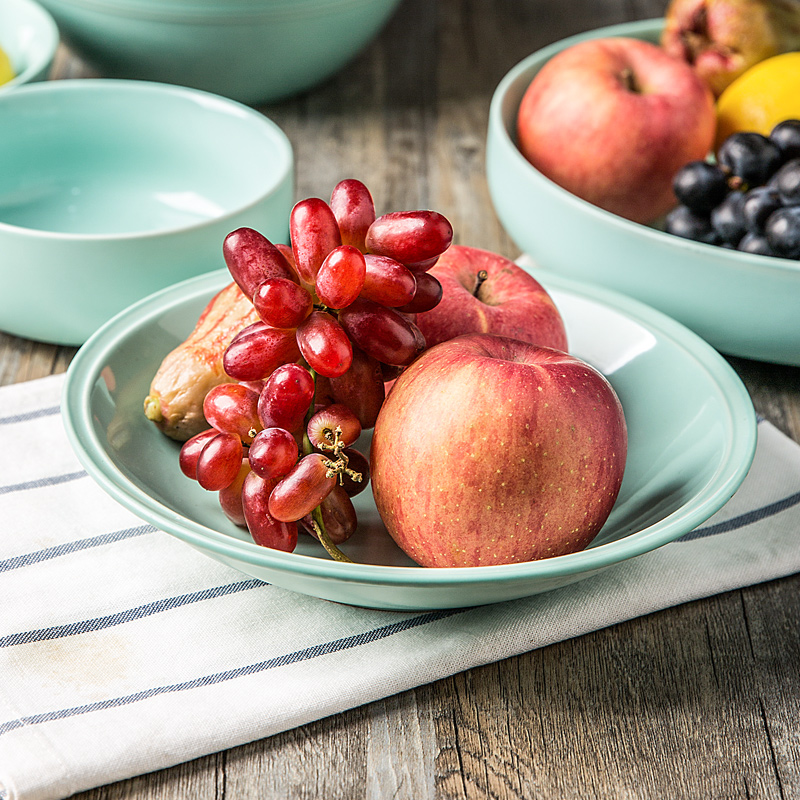 陶典 日式陶瓷器大湯碗裝麵碗沙拉碗家用餐具套裝