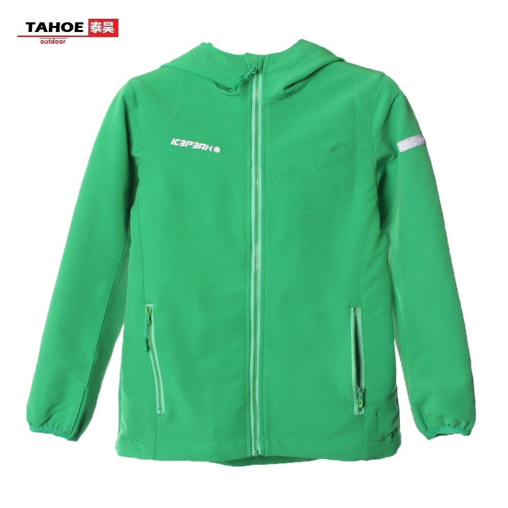 Icepack Finland outdoor childrens sports jacket Yadan Jr boys and girls hooded breathable coat