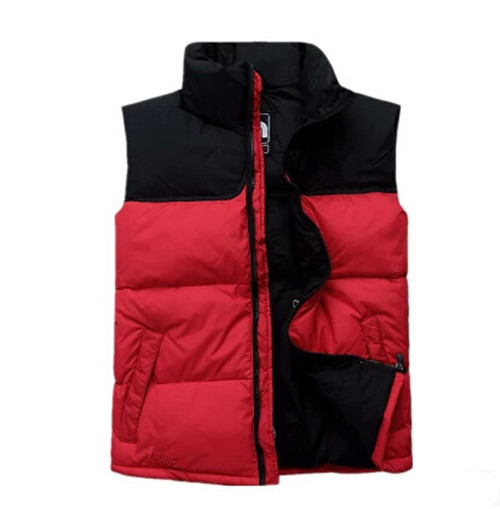 Foreign trade tail single down vest mens and womens Unisex Asian version outdoor sports Down Jacket Vest package mail
