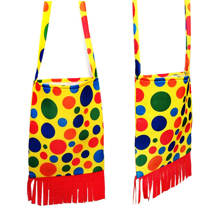 Cosplay clown clothing accessories accessories clown props bag clown shoulder bag clown backpack clown schoolbag