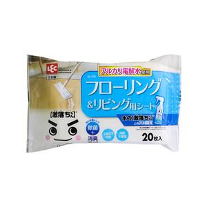 日本LEC拖地湿巾地板湿巾平板拖把静电除尘纸去污除尘湿纸巾20张