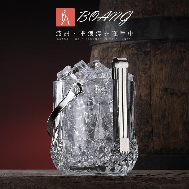 Быстрое охлаждение льда для льда красный Бочка с кубиками льда утепленный стиль