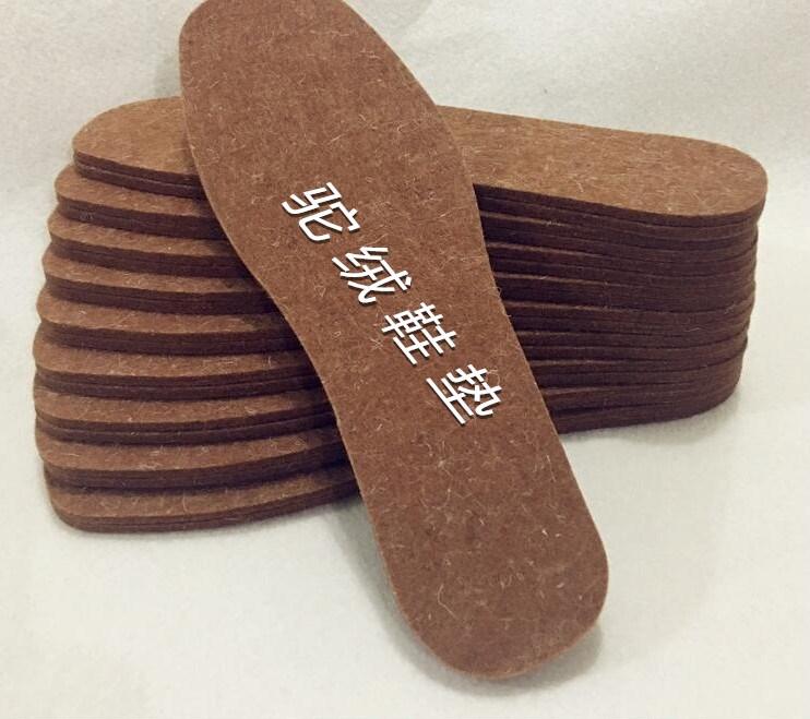【十双装】羊毛毡鞋垫加厚冬季吸汗透气保暖男女棉鞋垫包邮图片