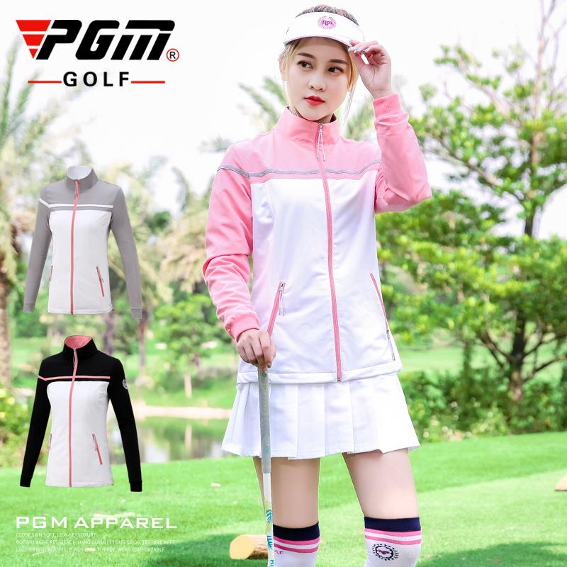 高档p 新款!高尔夫外套 女士秋冬季服装 女装运动风衣 长袖衣服