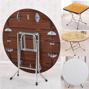 家用简易正方形饭桌小户型折叠桌子