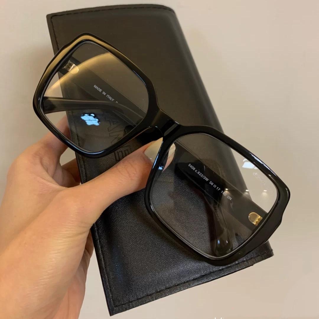 高版本小香潮女防蓝光黑框大框显瘦眼镜框素颜街拍防辐射近视眼镜