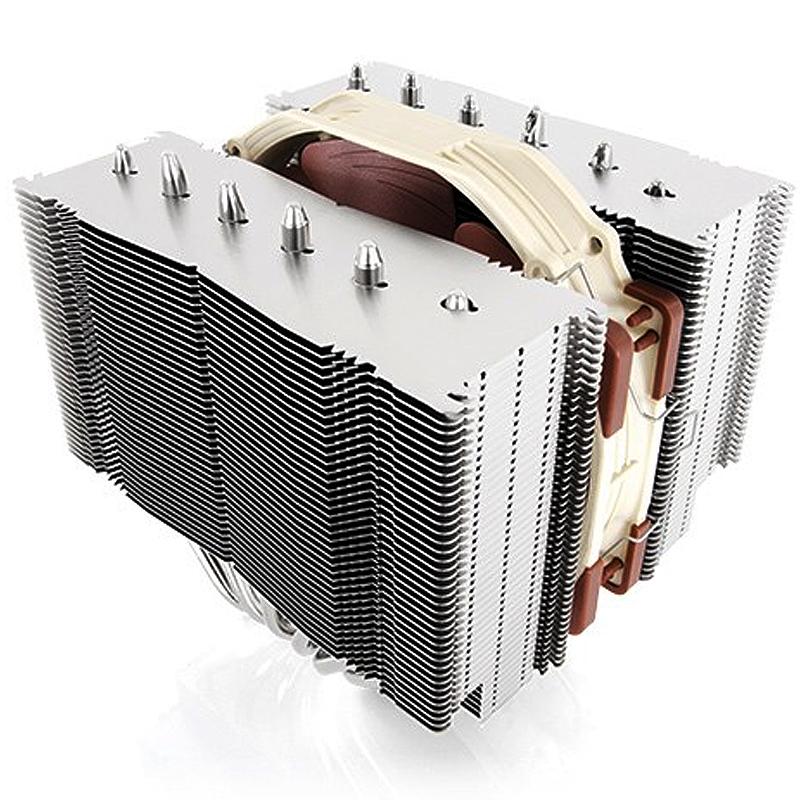 猫头鹰D15S NH-D15S 6热管双塔散热器温控风扇不挡内存 支持 AM4