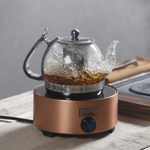 Poly-Sheng Steamed tea maker Tea black tea Puer glass steam tea Set tea pot electric pottery furnace boiled kettle