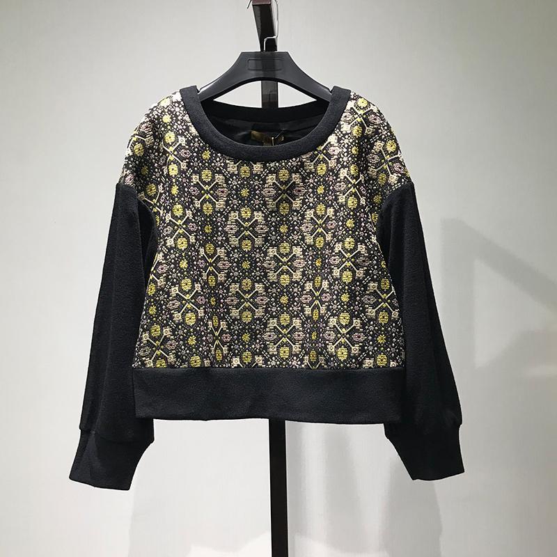 衣本【KA】品牌折扣女装专柜正品清仓秒杀长袖圆领T恤