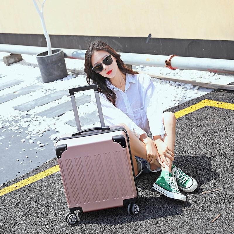 18寸韩版时尚登机箱男女旅行行李箱密码小箱子包14寸手提化妆箱包