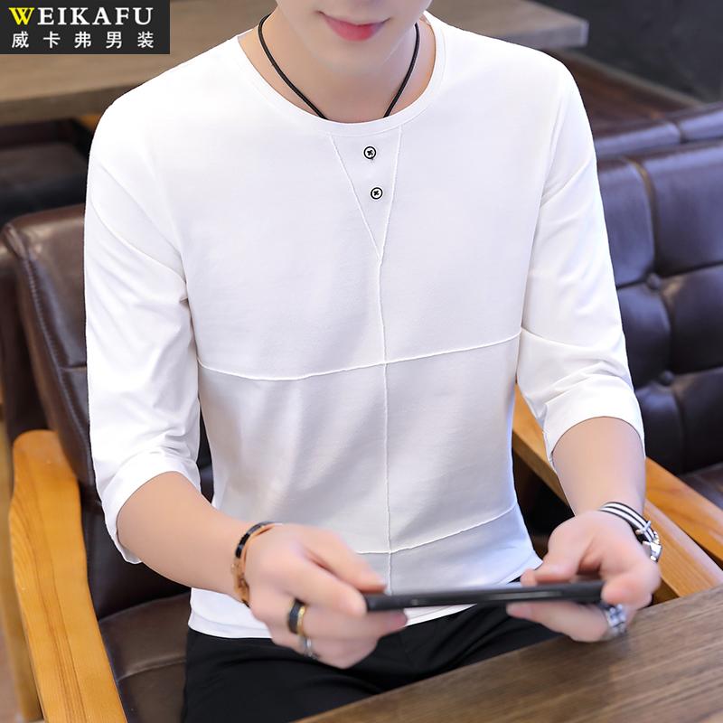 2021夏季男士短袖t恤韩版潮流卫衣