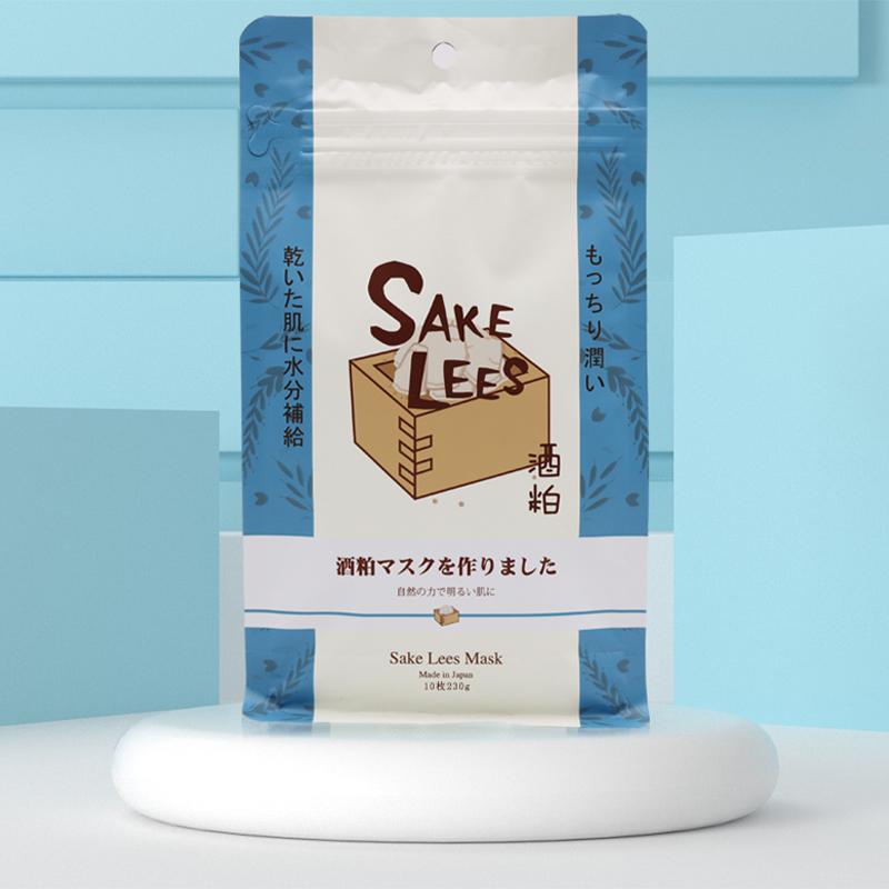 日本Sincere Laura酒糟护肤面膜 10枚/袋