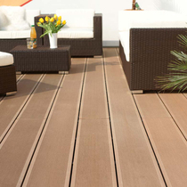 Wooden flooring outdoor wooden plastic plate long outdoor courtyard garden balcony diy anticorrosive wood floor terrace Waterproof