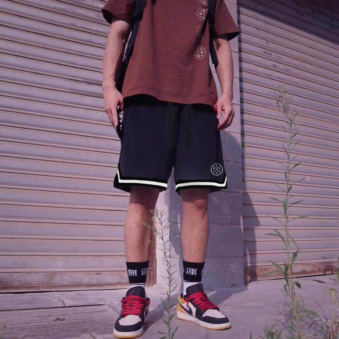 LVFT运动短裤男肌肉型男夏季健身短裤五分跑步训练篮球速干裤兄弟