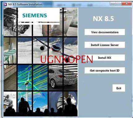 UG NX3.0/4.0/5.0/6.0/7.0/7.5/8.0/8.5/9.0/10.0/11.0 программное обеспечение установка пакет