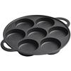 七孔铸铁鸡蛋加深模具家用汉堡机性价比好不好