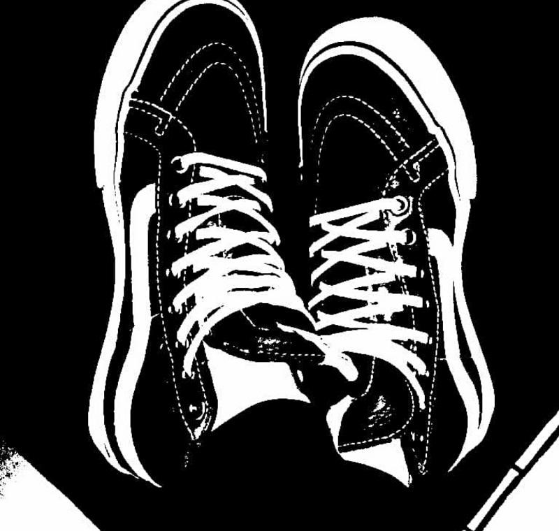 正品Vans SK8-Hi 黑白经典款高帮男鞋女鞋帆布鞋滑板鞋VN-0D5IB8C