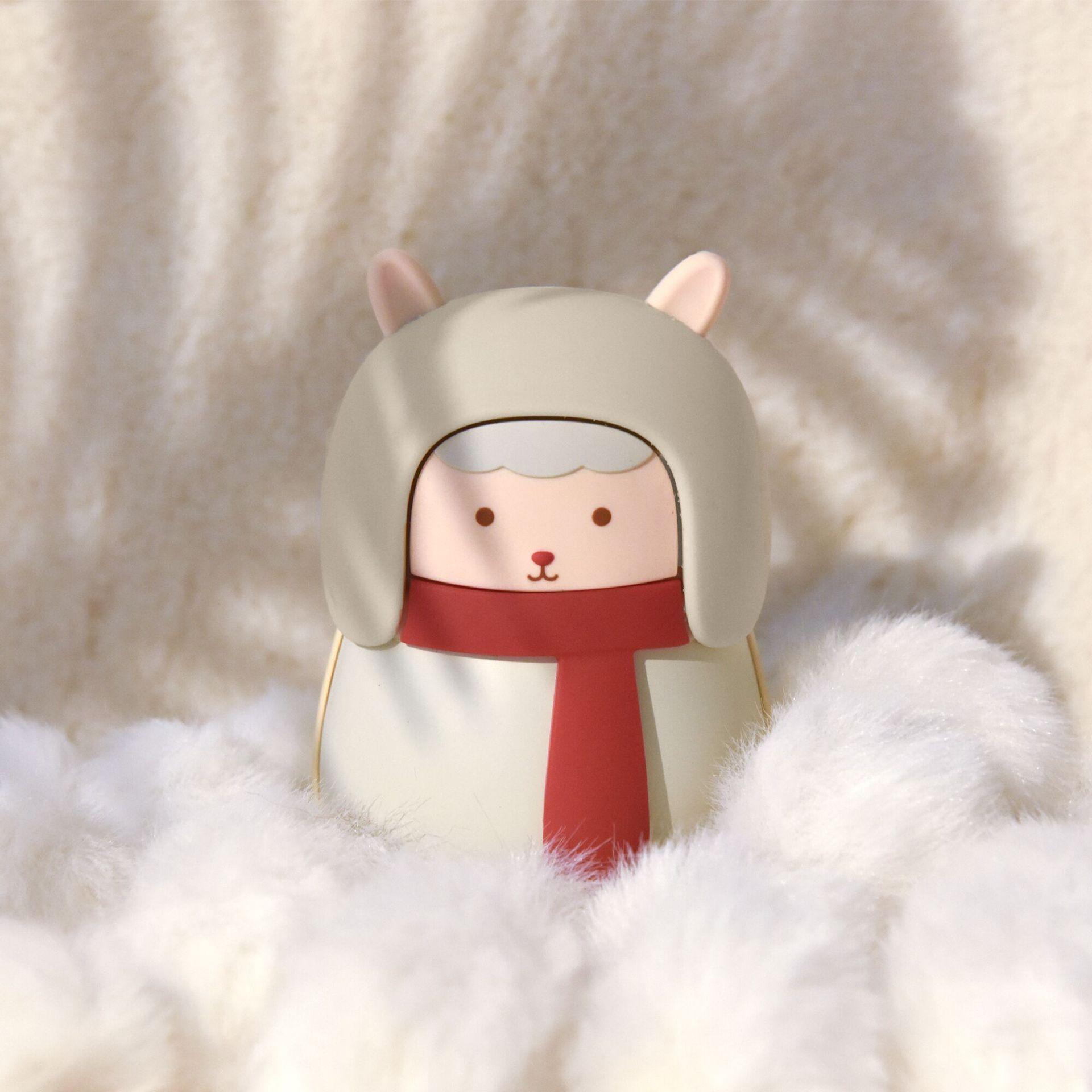 暖手宝充电宝两用防爆迷你可爱暖宝宝小羊随身便携式学生电热宝女