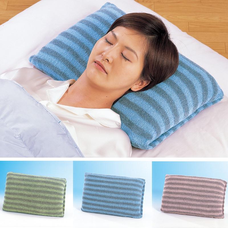 日本进口备长炭保暖枕套弹力护颈椎助眠安睡负离子抗菌除味可清洗
