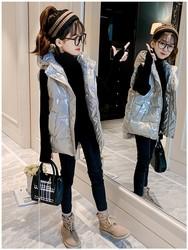 女童羽绒棉马甲2020年新款儿童洋气加厚秋冬装韩版外穿冬季背心潮