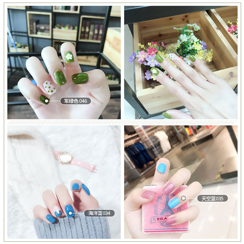Manicure suit full set of 48W phototherapy machine professional beginners durable Tools Home sticker ornaments nails