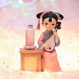 复古宫廷风格格娃娃房间桌面装饰摆件少女心儿童节送女孩生日礼物