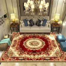 European style living room carpet, sofa, tea table, carpet, bedside carpet, large area carpet mattress, household customization