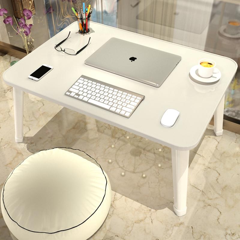 床上小桌子卧室坐地可折叠床上书桌简易家用加大懒人桌宿舍寝室用
