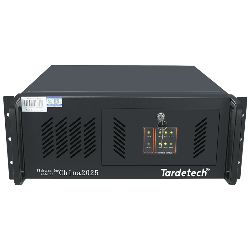 天迪工控机 第6代CPU 10串口  2网口 4U工控主机710i(604)新款