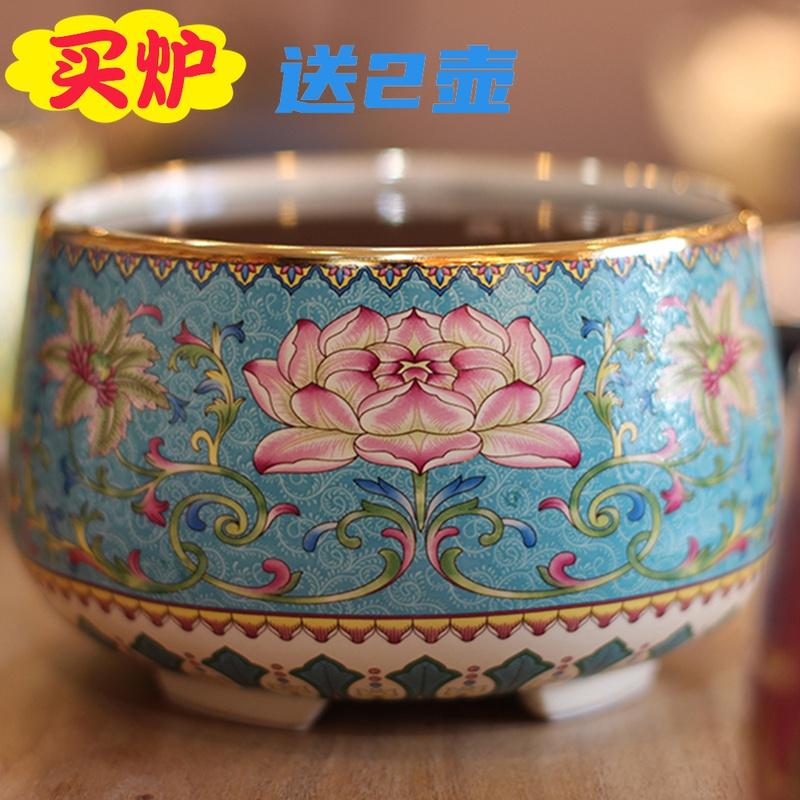 莺歌烧电陶炉茶炉家用办公室茶桌煮茶器泡茶具专用烧水静音电磁炉