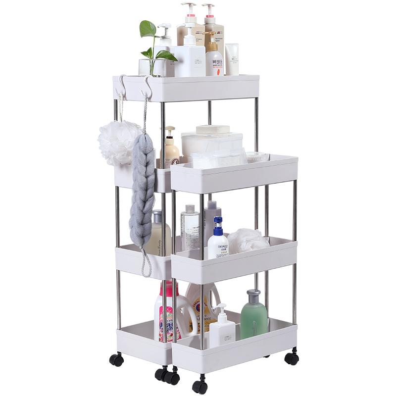 浴室置物架落地式卫生间洗漱台多层收纳架厕所脸盆柜储物整理架子