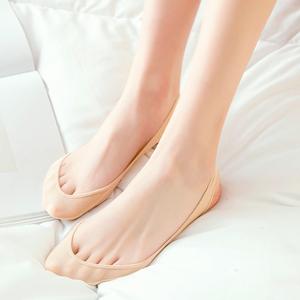 3双船袜女夏季超浅口高跟鞋不掉跟吊带袜隐形硅胶防滑单鞋冰丝袜