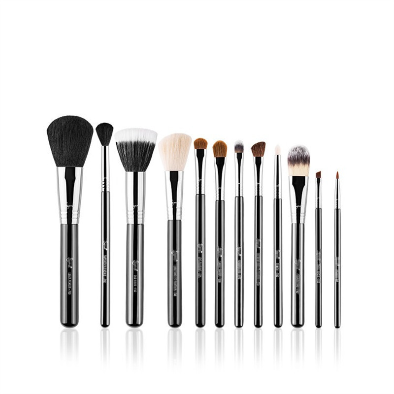 S professional makeup brush, brush, powder brush, high gloss brush, foundation brush, eye shadow brush, halo dyeing brush set.