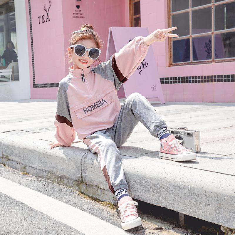 女童秋装2019新款韩版小女孩时髦限100000张券