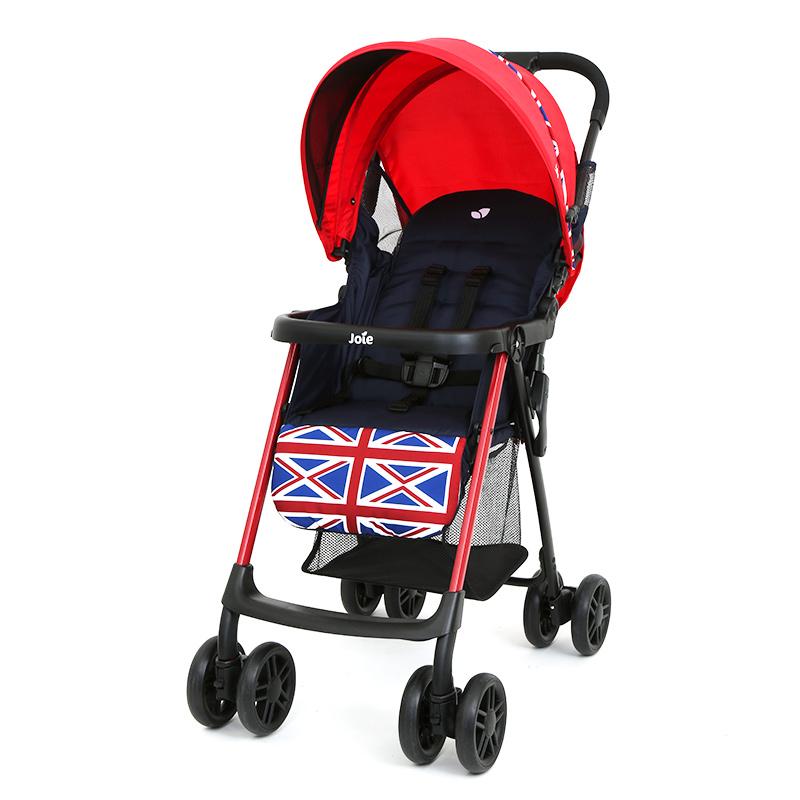 英国巧儿宜joie新艾儿四季便捷宝宝婴儿推车可坐可躺轻便折叠伞车