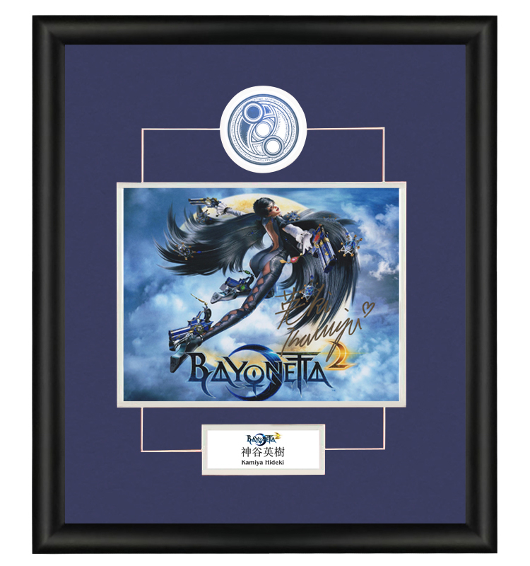 Yingshu Shenggu Angel Game Producer Autographed Photo Framed with certificate