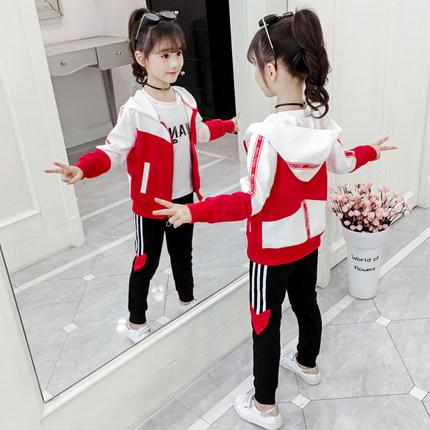 女童秋装2020新款韩版时髦洋气大童