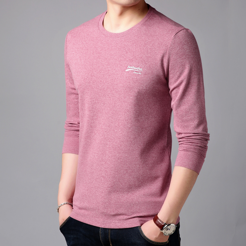 Long sleeve t-shirt mens summer ultra-thin iced cotton sweater mens top thin local. Spring 2020 mens wear