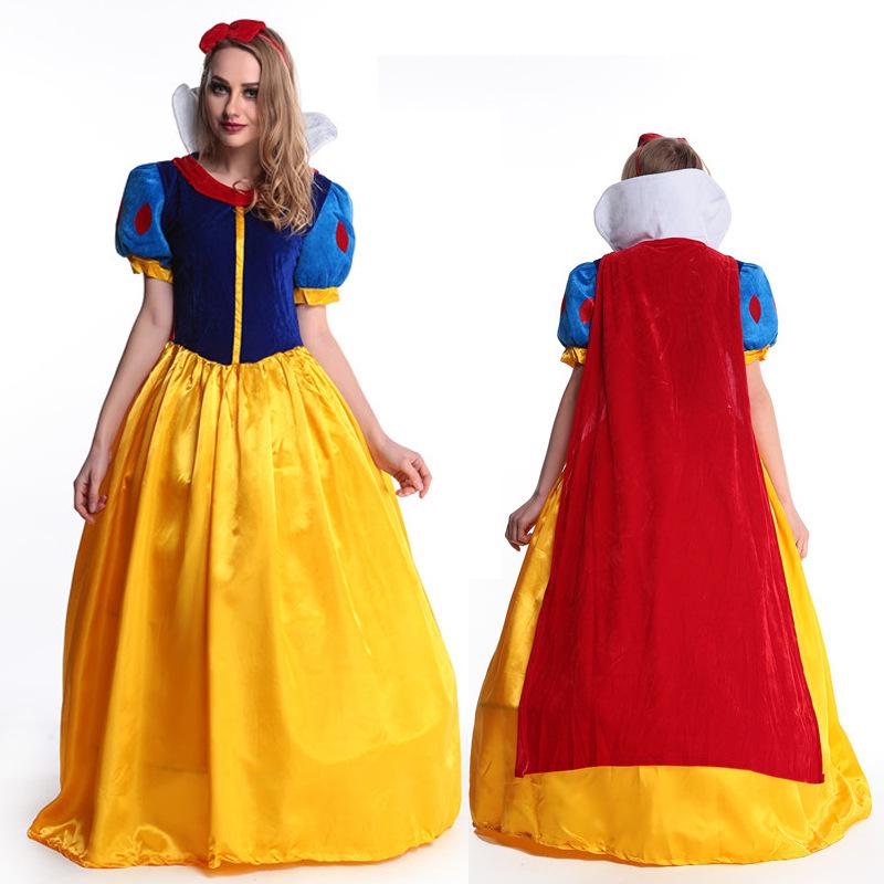 新款万圣节白雪公主裙芭蕾舞裙电影成人DS女演出服装