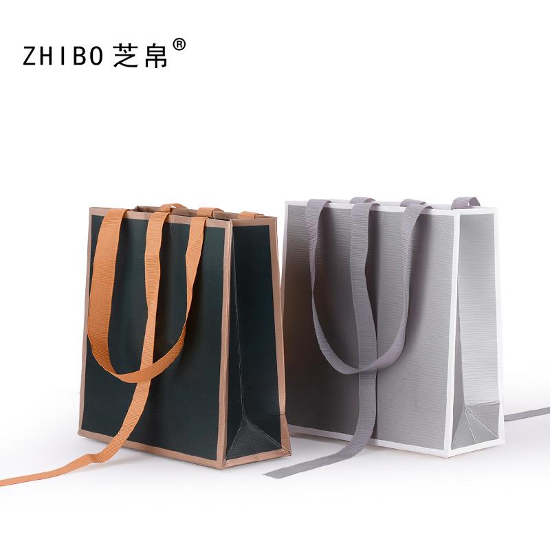 芝帛珠宝饰品首饰包装袋礼物礼品袋子首饰盒手提袋纸袋可定制LOGO