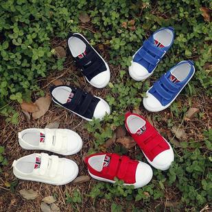 9大童女鞋12-15岁春季儿童单鞋女童女孩子小学生休闲帆布平底板鞋