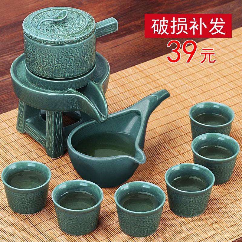 夏洁景德镇手绘青瓷竞技宝app苹果官方下载茶壶盖碗套装家用功夫陶瓷茶杯泡茶器整套